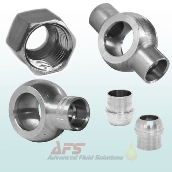 Cohline - Solder Fittings, Nuts & Cutting Rings for Tubes